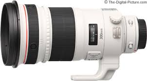 Canon Eos Lens Chart Canon Ef 300mm F 2 8l Is Ii Usm Lens Review