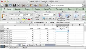 Ms Excel How To Use The Max Function Ws
