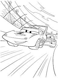 Disegno Di Cars Con Strip The King Weathers Lauto Da Corsa Da