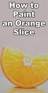 learn how to paint an orange in this free oil painting art lesson