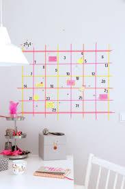 Washi Tape Wall Calendar Designs