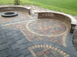 ideas brick paver patio designs home design cute