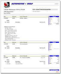 Auto Maintenance Tracking Vehicle Maintenance Software Car Maintenance Software