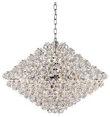 contemporary vienna full spectrum essa 31 1 2 wide crystal pendant