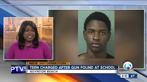 one student 18 year old wanye evan brown was arrested and charged with numerous weapons charges disturbing the peace having a weapon on school