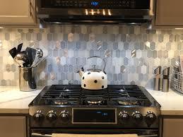 Kitchen Backsplash Designs Home Depot Harlow Picket Backsplash Installed Purchased From Home