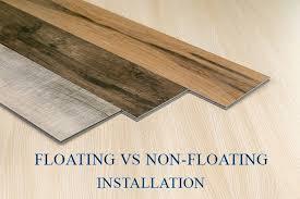 floating floors vs non floating floors