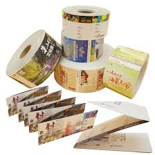 Roll Mounted Folding Scenic Ticket Printing Boarding Pass Ticket