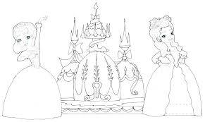 Disney Princess Belle Printable Coloring Pages Baby Ariel Free Color