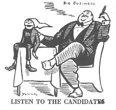 plutocracy vs democracy cartooning capitalism art young good morning 1920