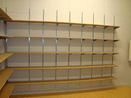 create tidy storage areas with adjule wall shelves for example wall shelving above the workbenches or in the garage utility areas