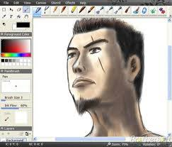 great freeware best used by free-hand artists. You can design