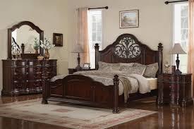 dark cherry wood bedroom furniture solid oak king size bedroom set traditional cherry furniture