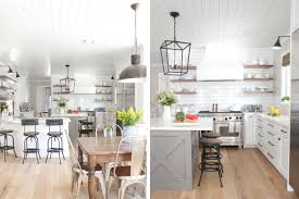 Modern farmhouse kitchen design New Zealand Modern The Spruce Gorgeous Modern Farmhouse Kitchens