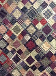 Best 25+ Plaid quilt ideas on Pinterest | Gingham quilt, Quilts ... & close up of a lovely plaids & stripes quilt, from the timeless traditions  quilts blog Adamdwight.com