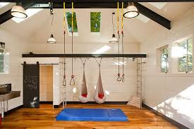 home office in garage. Titan Lite\u0027s Garage Conversion Of The Month: Seattle Home Gym Office In