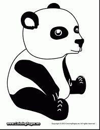More than 600 free online coloring pages for kids: Panda With Bamboo Coloring Pages Coloring And Drawing