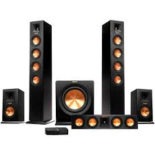klipsch home theatre. klipsch rp-440wf hd wireless home theater package theatre