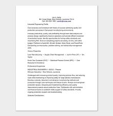 Industrial Engineer Resume Engineering Resume Template 20 Examples For Word Pdf