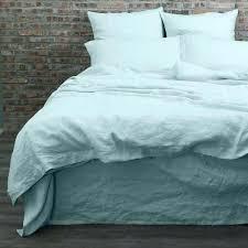 washed linen duvet cover blue stripe washed linen duvet cover wamsuttar vintage washed linen