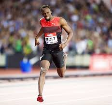 how fast would usain bolt run the mile