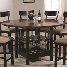 round counter height table intended for exquisite decoration dining enchanting remodel 17