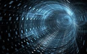 Digital Tunnel Digital Tunnel Unique Art Backgrounds Futuristic
