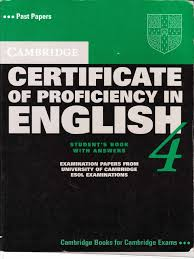 Certificate Of Proficiency In English 4 Languages Further Education