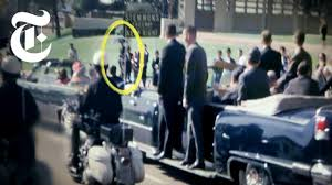 who was the umbrella man jfk ination doentary the new york times