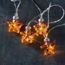 Mercury Glass String Lights Primitives By Kathy Mercury Glass Star String Lights Battery Operated 10 Stars