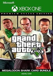 Each denomination is called after a different type of shark, hence the name shark cards. Grand Theft Auto V Premium Online Edition Megalodon Shark Card Bundle Xbox One Cdkeys