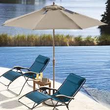 9 solar powered patio beach umbrella