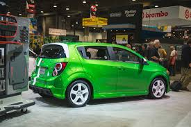 2015 Chevrolet Sonic Performance Concept - SEMA 2014   GM Authority