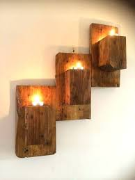 wooden wall candle holders wall candle holders beautiful pallet wall hanging candle organizer wall mounted candle wooden wall