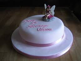 6 Fairy Birthday Cakes For Girls Photo Fairy Birthday Party Cake
