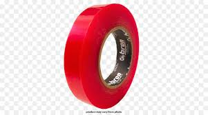 adhesive tape doublesided tape adhesive red hardware png