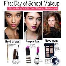 first day of makeup 3 easy trends you can wear to homeroom