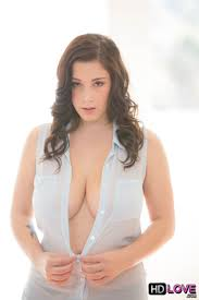 Noelle Easton gets her big boobs fucked in a sheer blue top HD.