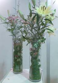 ... Adorable Decorating Design Ideas Using Unusual Flower Vase : Delectable  Tall Glass Unusual Flower Vase And ...