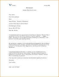 Format Letter Of Resignation Teacher Retirement New Letter