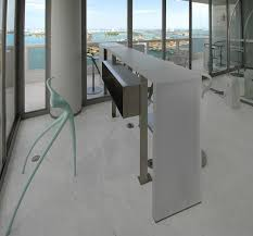 Christine A.L. Restaino Architect P.C. - Miami Penthouse Kitchen