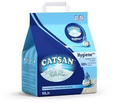 Купить <b>Наполнитель Catsan</b> Hygiene Plus (<b>10 л</b>) с самовывозом у ...