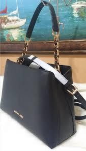 portia large saffiano black leather satchel 22538574 larger image