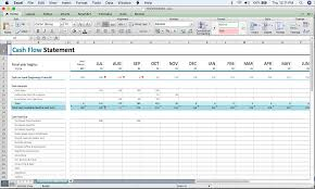 A Beginners Cash Flow Forecast Microsofts Excel Template