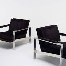 milo baughman furniture. 275: Milo Baughman / Lounge Chairs, Pair (3 Of 3) Furniture U