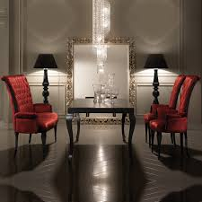 high end dining chairs. High End Italian Extendable Dining Table Set Chairs I