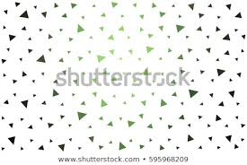 Dark Green Vector Abstract Colorful Background Stock Vector Royalty
