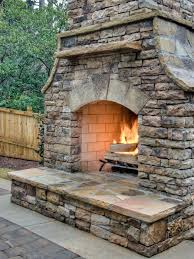 Small Picture Outdoor Fireplace Ideas Design Ideas for Outdoor Fireplaces HGTV