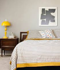 Image Above: Angela Hardisonu0027s Bedroom Features My Favorite Color  Combination: Yellow U0026 Gray!