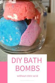 diy bath s without citric acid